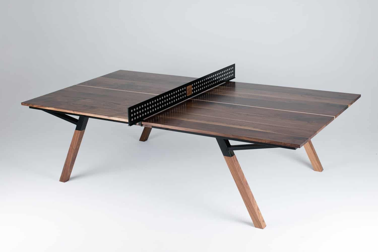 Black Walnut Ping Pong Table - Laguna Beach Art Galleries