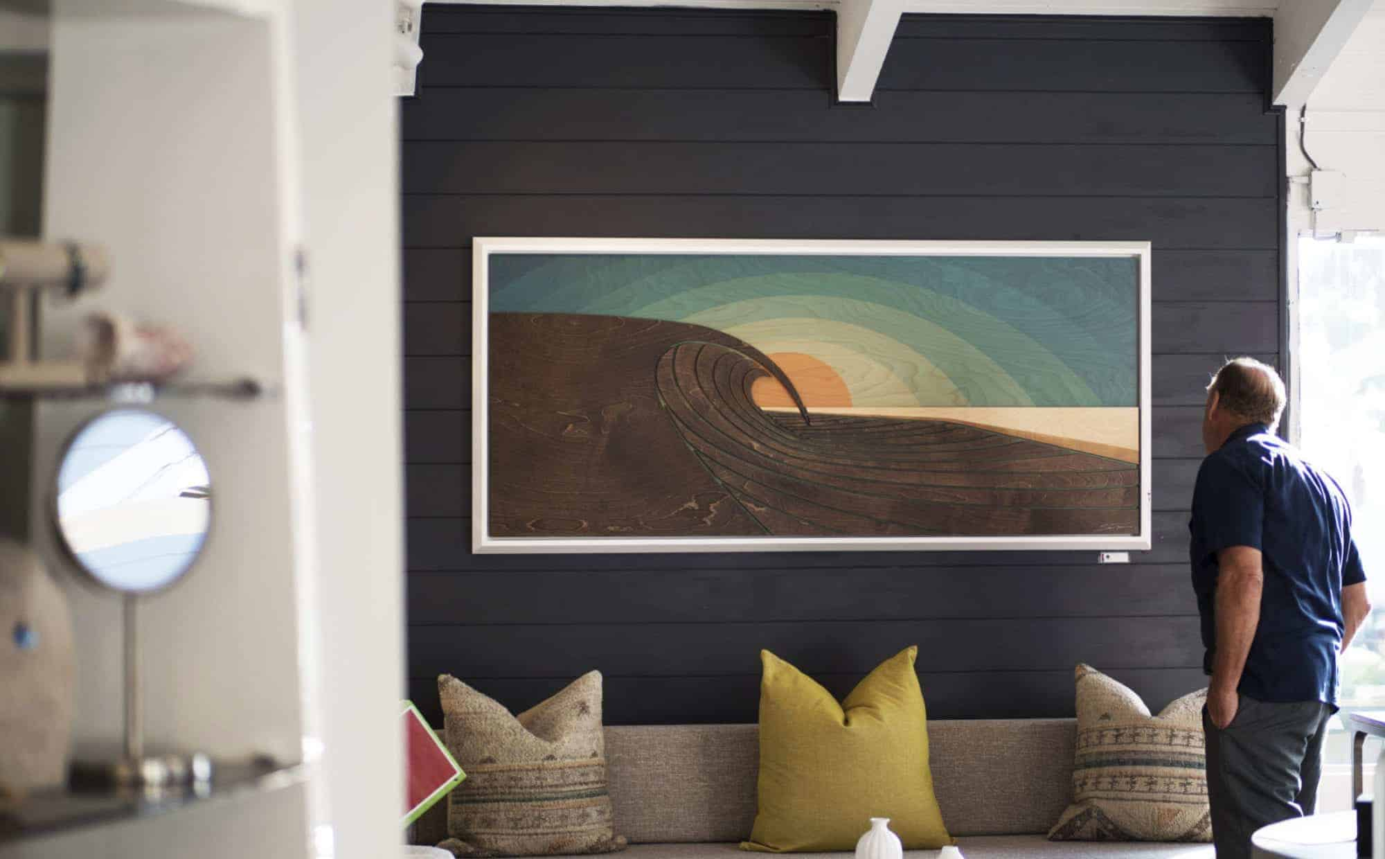 Laguna Beach Art Galleries - wave gallery - Shaun Thomas - Thomas Studios