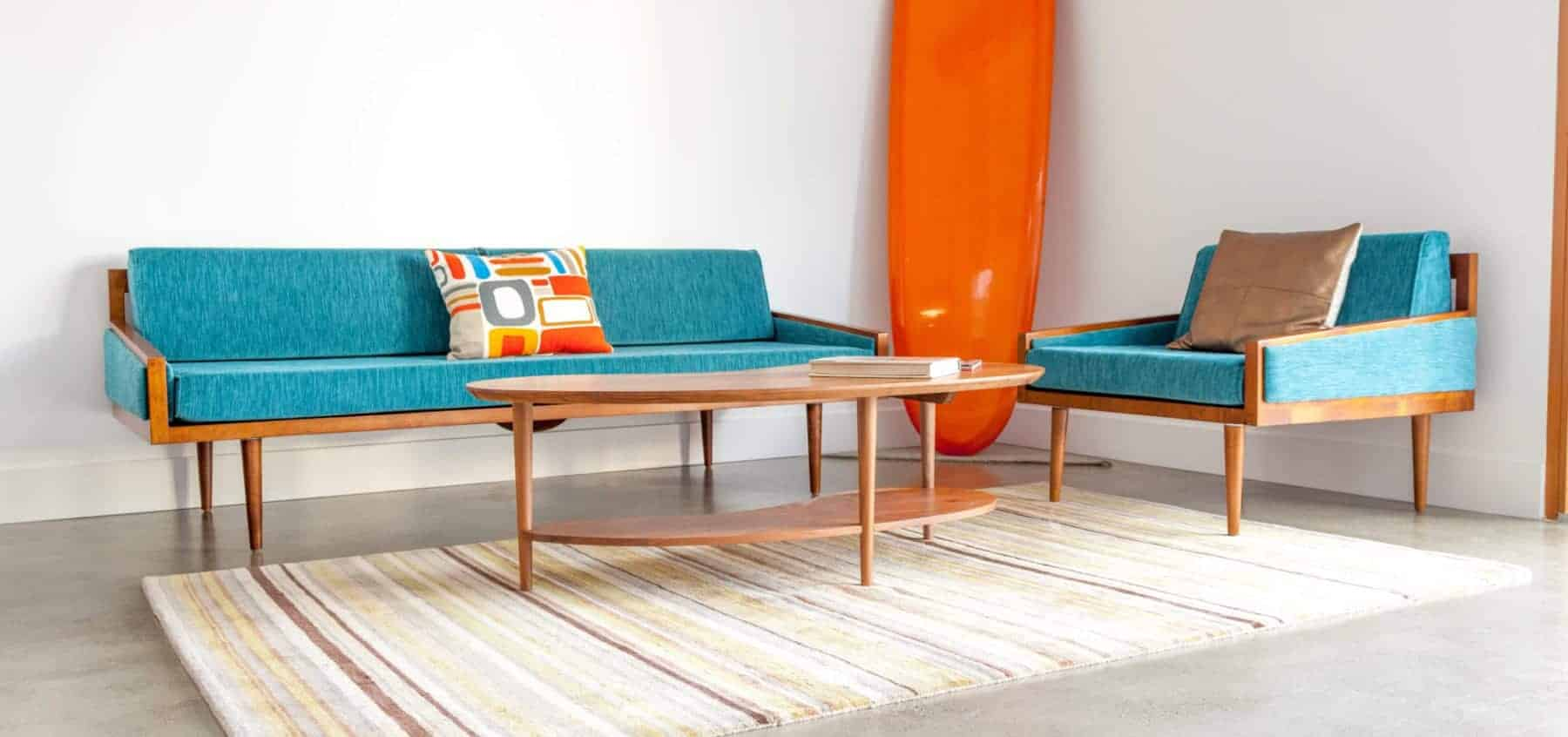 Laguna Beach Art Galleries - Mid Century Modern Furniture - California mid century modern
