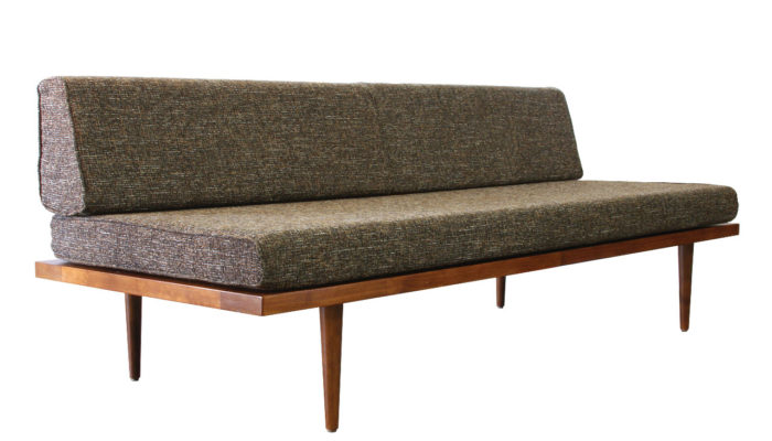Awesome Mid Century Modern Daybed Sofa Mcm Daybed Handmade In Alphanode Cool Chair Designs And Ideas Alphanodeonline