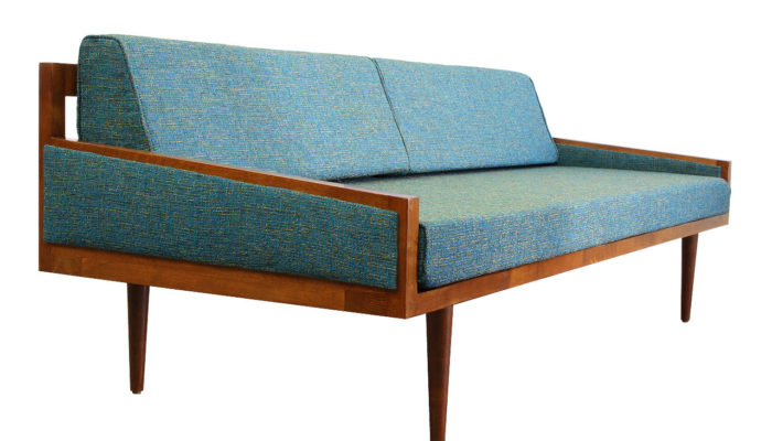 Prime California Mid Century Modern Execuitve Daybed Sofa Mcm Machost Co Dining Chair Design Ideas Machostcouk