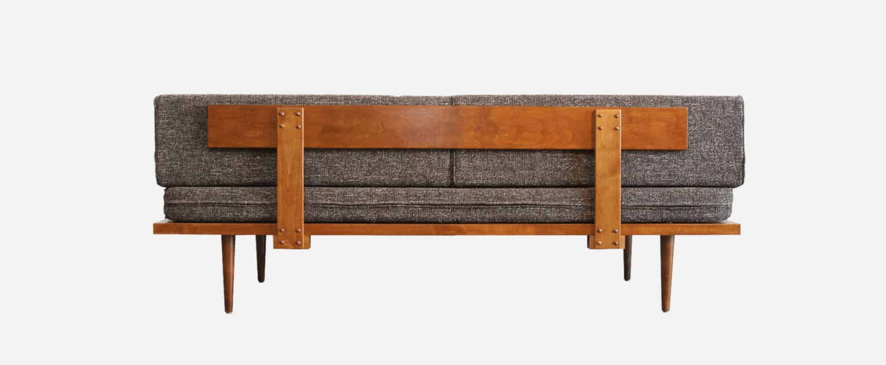 Mid Century Modern Daybed   Backside Of MCM Furniture