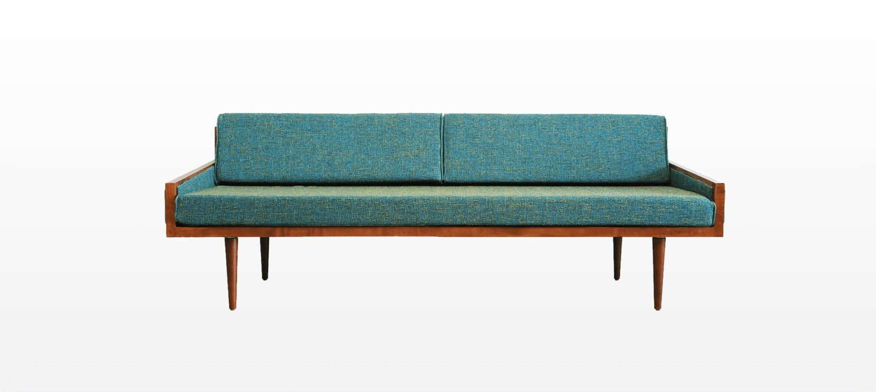 Swell California Mid Century Modern Execuitve Daybed Sofa Mcm Machost Co Dining Chair Design Ideas Machostcouk