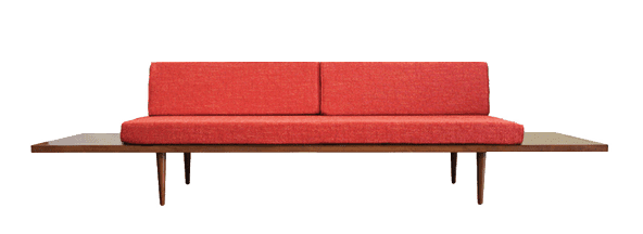 Mid Century Modern Sofa | affordable mid century modern furniture