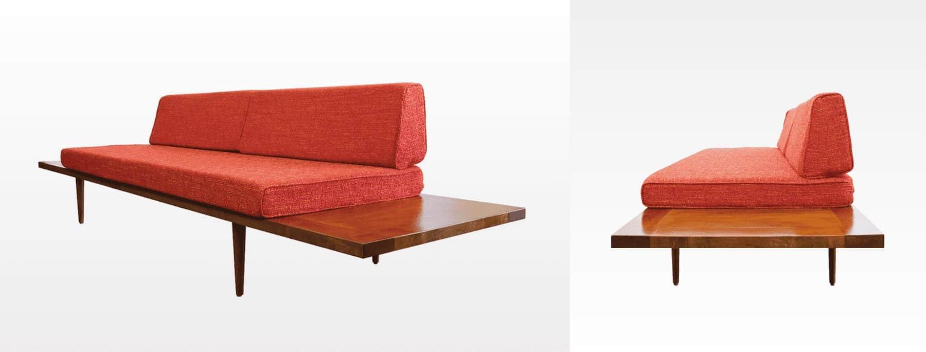 Mid Century Modern Sofa - mad men style sofa