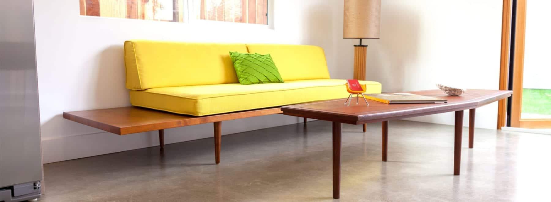 Mid Century Modern Sofa - mad men style sofa | affordable mid century modern furniture