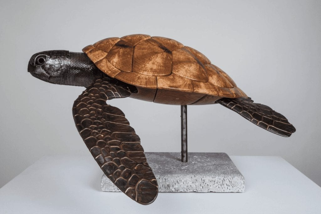 Ocean sculptures - wildlife gallery - coastal wildlife sculptures