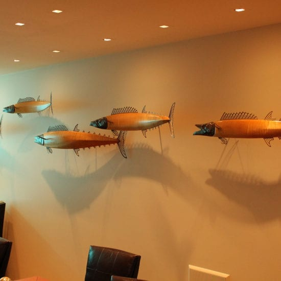San Diego, California - ocean gallery - wildlife gallery - fish sculpture