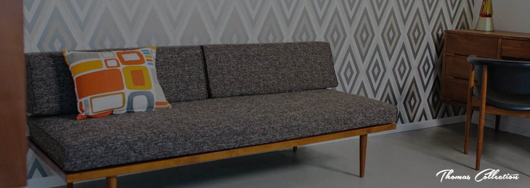 Astonishing Mid Century Modern Daybed Sofa Mcm Daybed Handmade In Alphanode Cool Chair Designs And Ideas Alphanodeonline