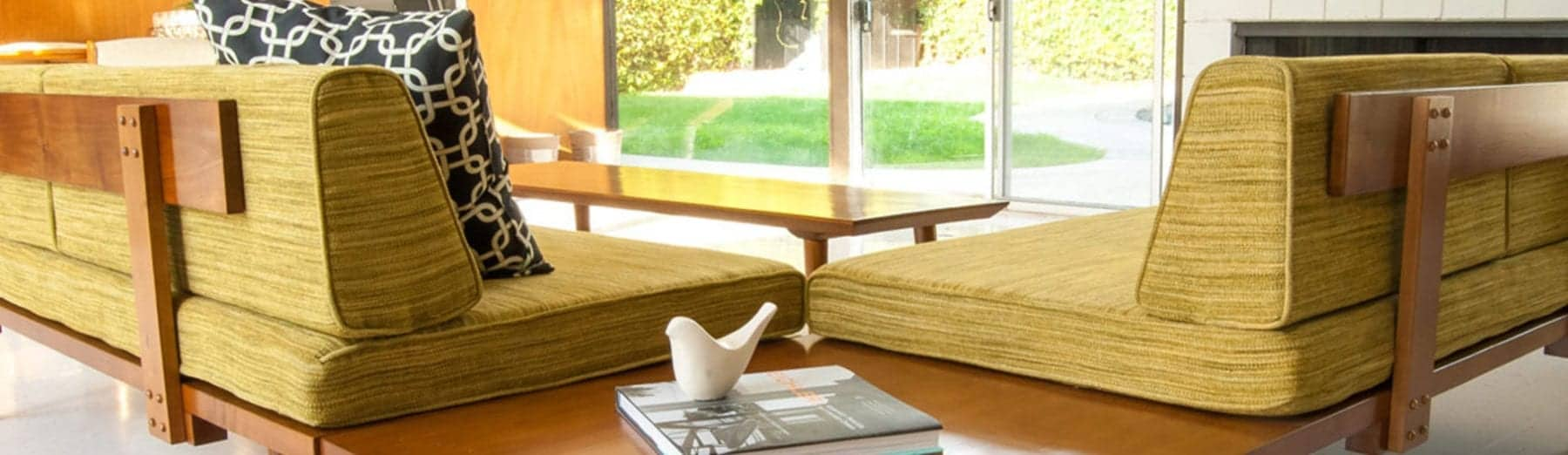 mid century modern daybed sofa - Mid Century Modern Sectional - affordable mid century modern furniture