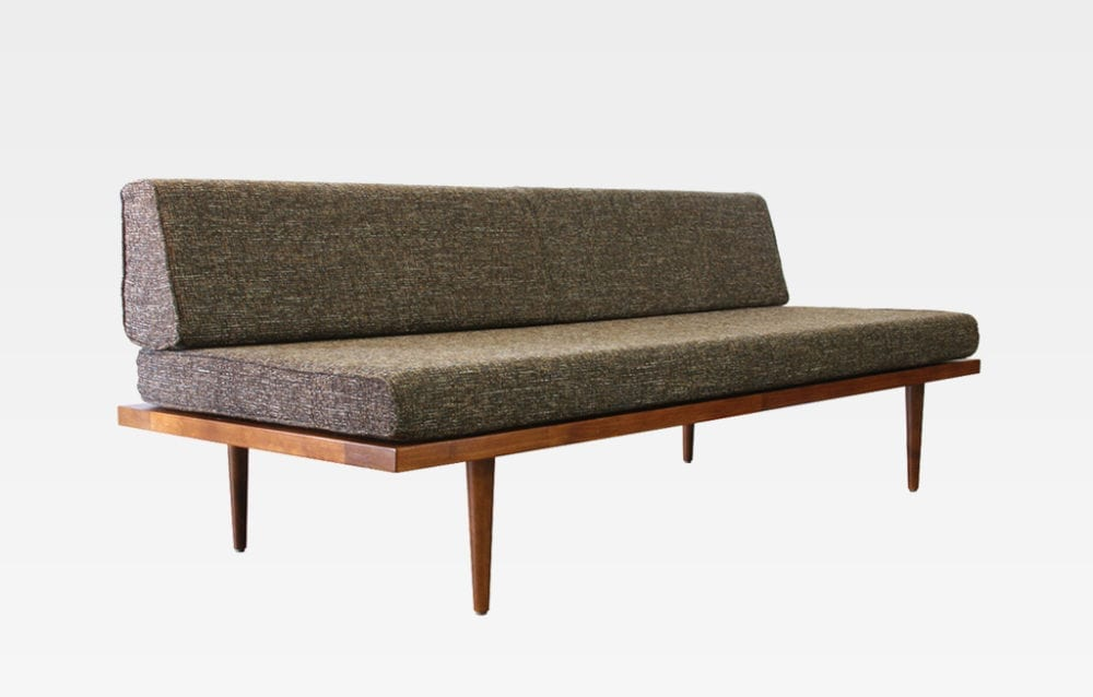 MCM Daybed - mid century modern daybed sofa - affordable mid century modern furniture