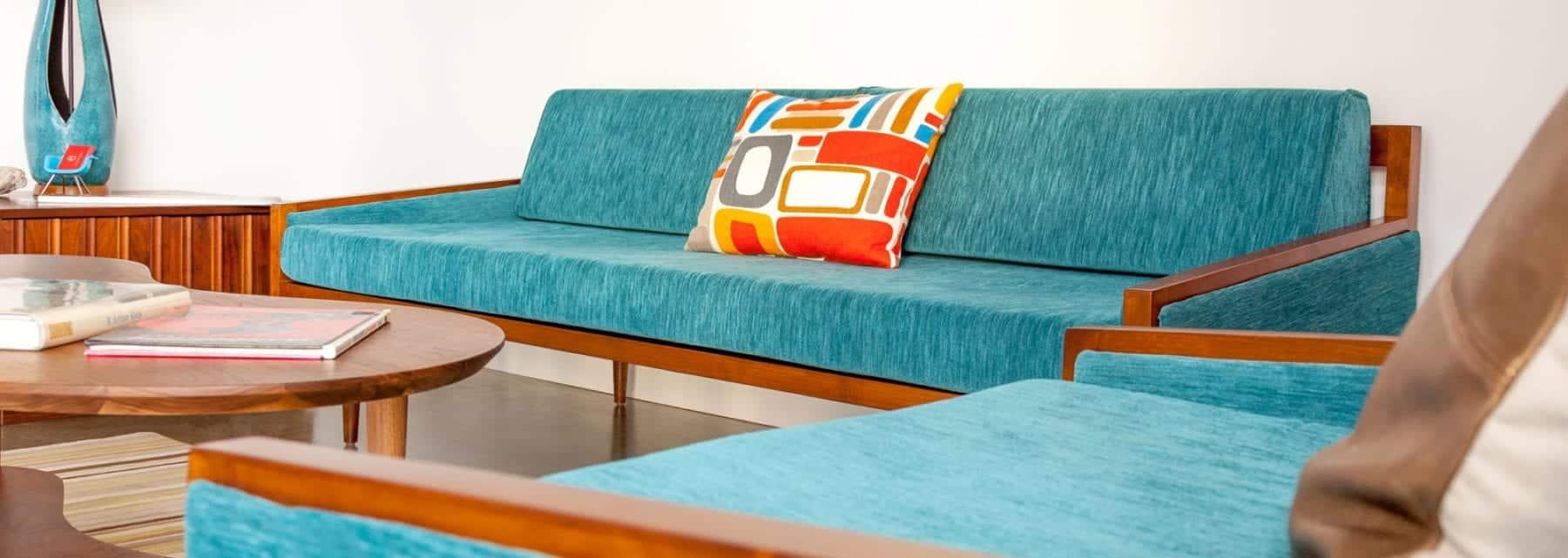Strange California Mid Century Modern Execuitve Daybed Sofa Mcm Machost Co Dining Chair Design Ideas Machostcouk