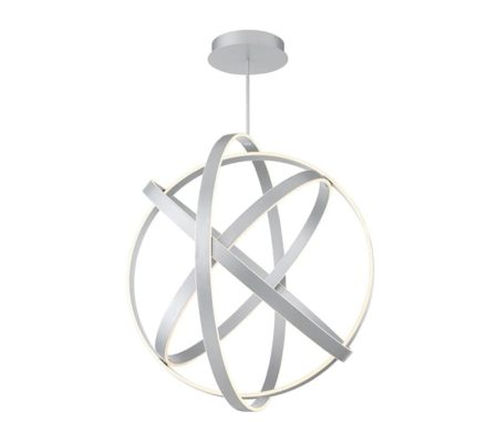 Sphere Pendant Light, Modern Lighting, White