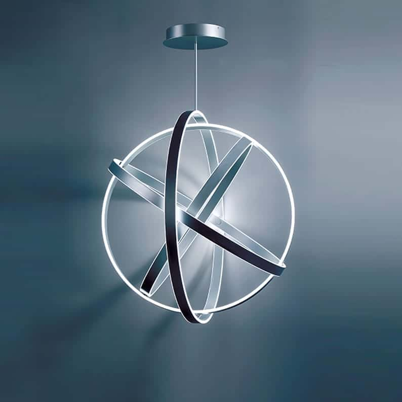 Galactic-sphere Pendant Light, Laguna Beach Modern Lighting