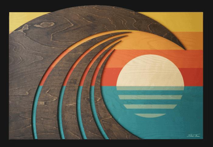 Hawaiian Art - surf art - beach house art - ocean gallery