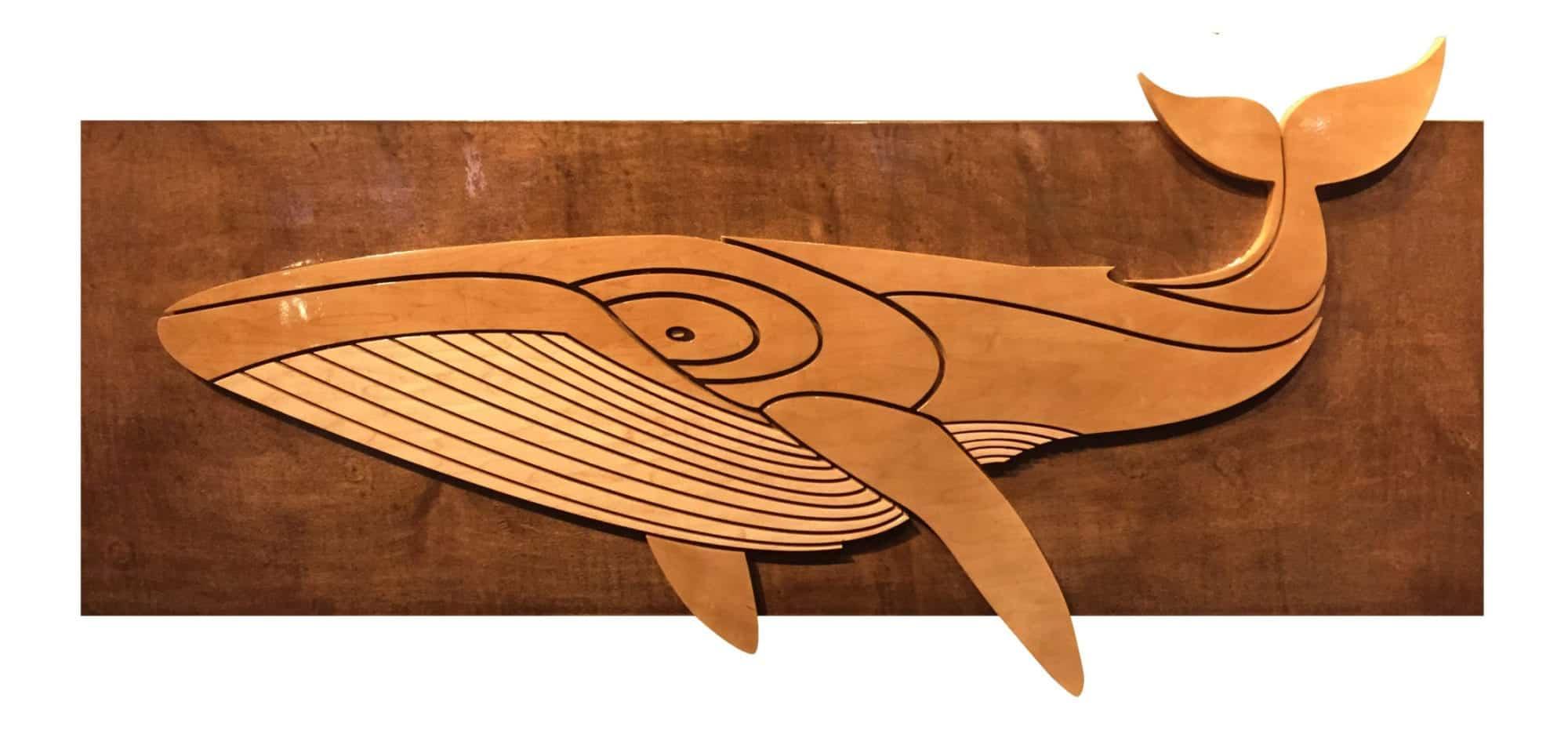 ocean gallery - wooden whale - Thomas Studios
