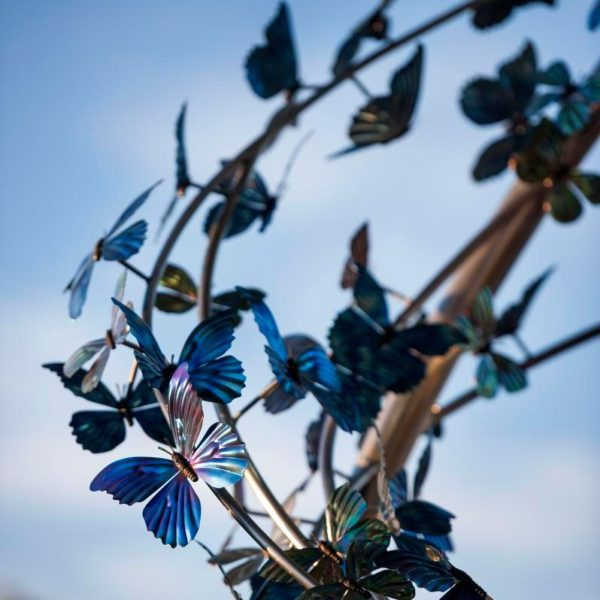 butterfly statue - wildlife gallery