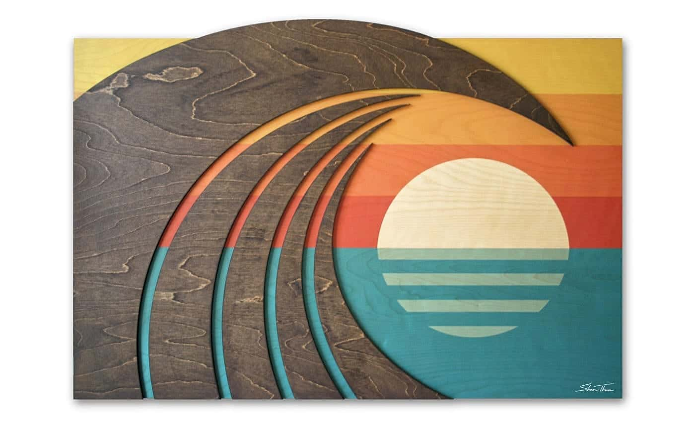 Coast Gallery - Hawaiian Wood Wall Art