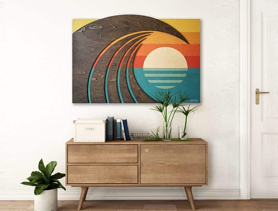 Hokua-surf-art-wave-art-wooden-artwork