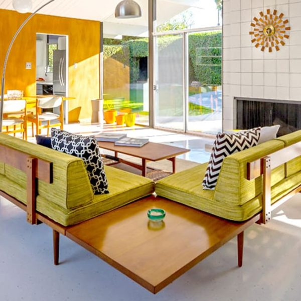 MCM Daybed - mid century modern daybed sofa - affordable mid century modern furniture - mcm furniture