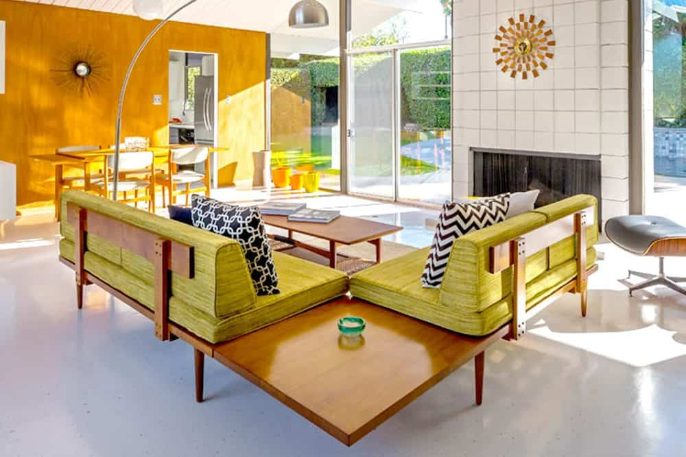 Eichler home - Mid Century Modern Furniture