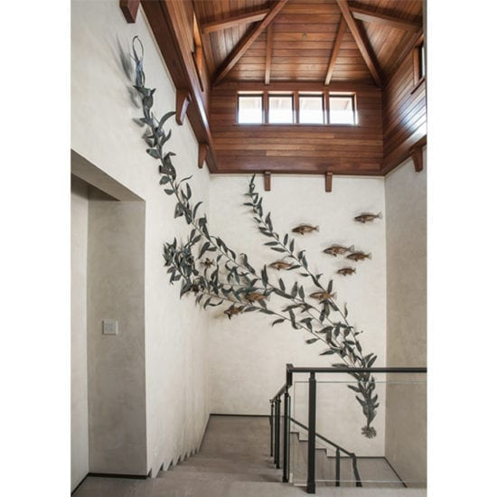 coastal wildlife sculptures - Sealife Statue - fish sculpture - hospitality artwork consulting