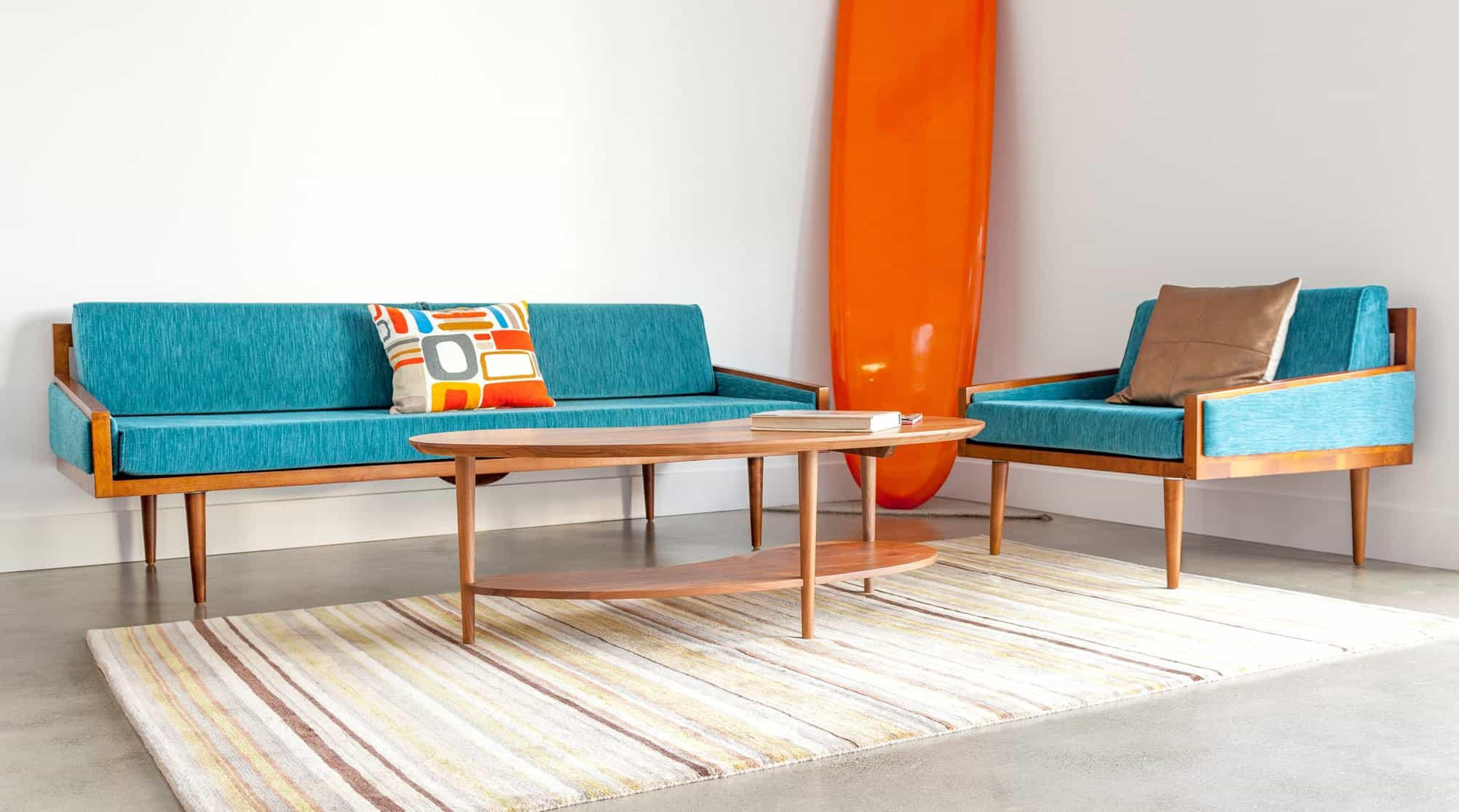 Affordable Mid Century Modern Furniture Handmade In California