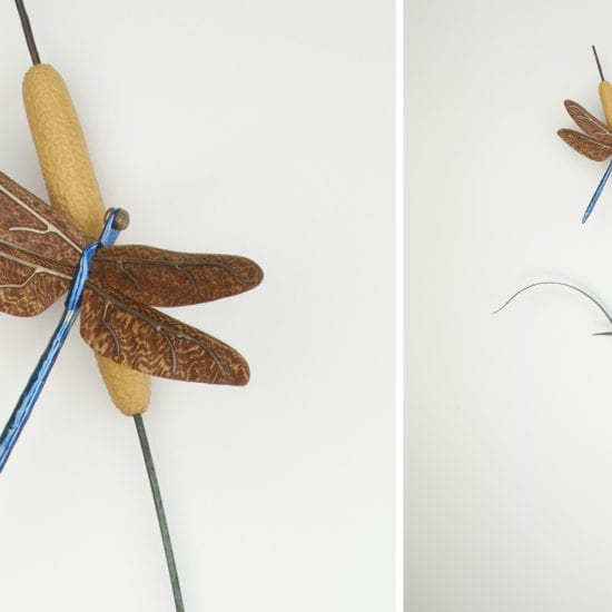 insect artwork | wildlife sculpture