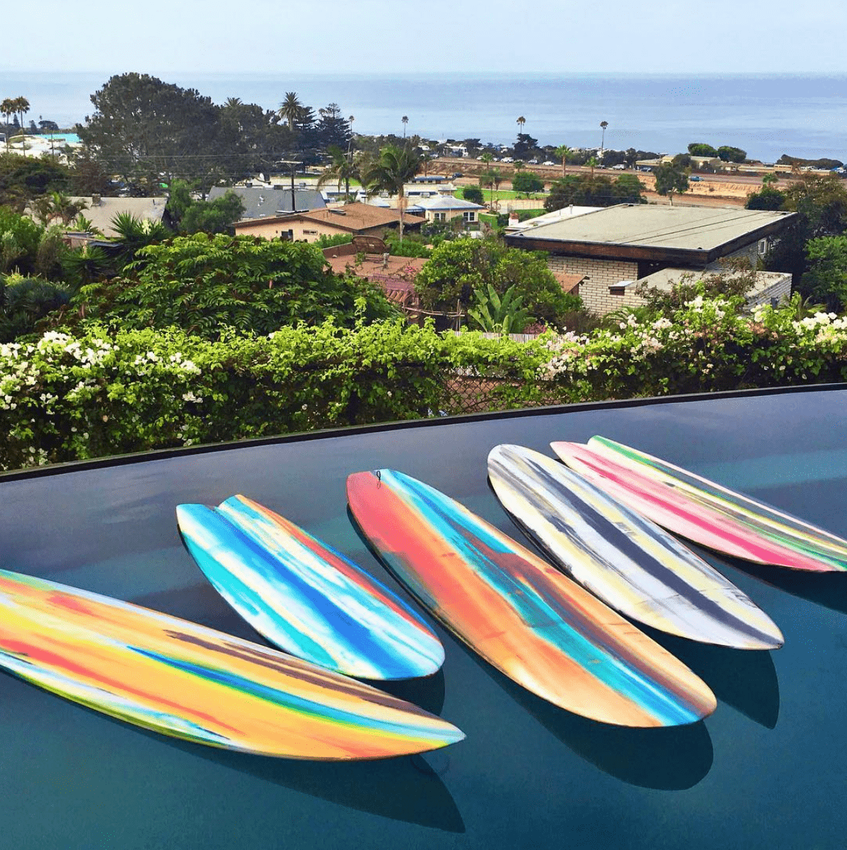 Surfboard Art by Erik Skoldberg | Contemporary Paintings | Vibrant & Energetic Artwork