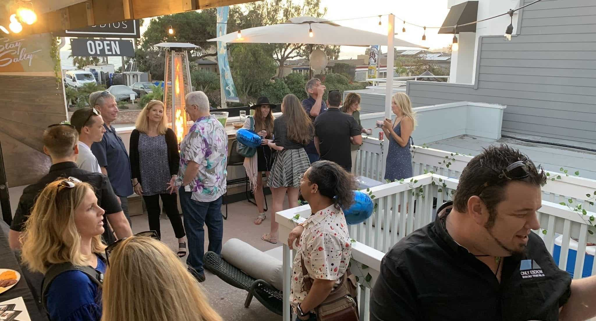 Private Party Patio Laguna Beach Event Space | Orange County Venues