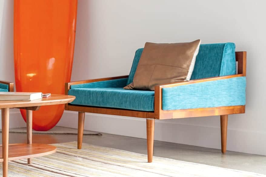 MCM Chair | Mid Century Modern Chair - Coastal