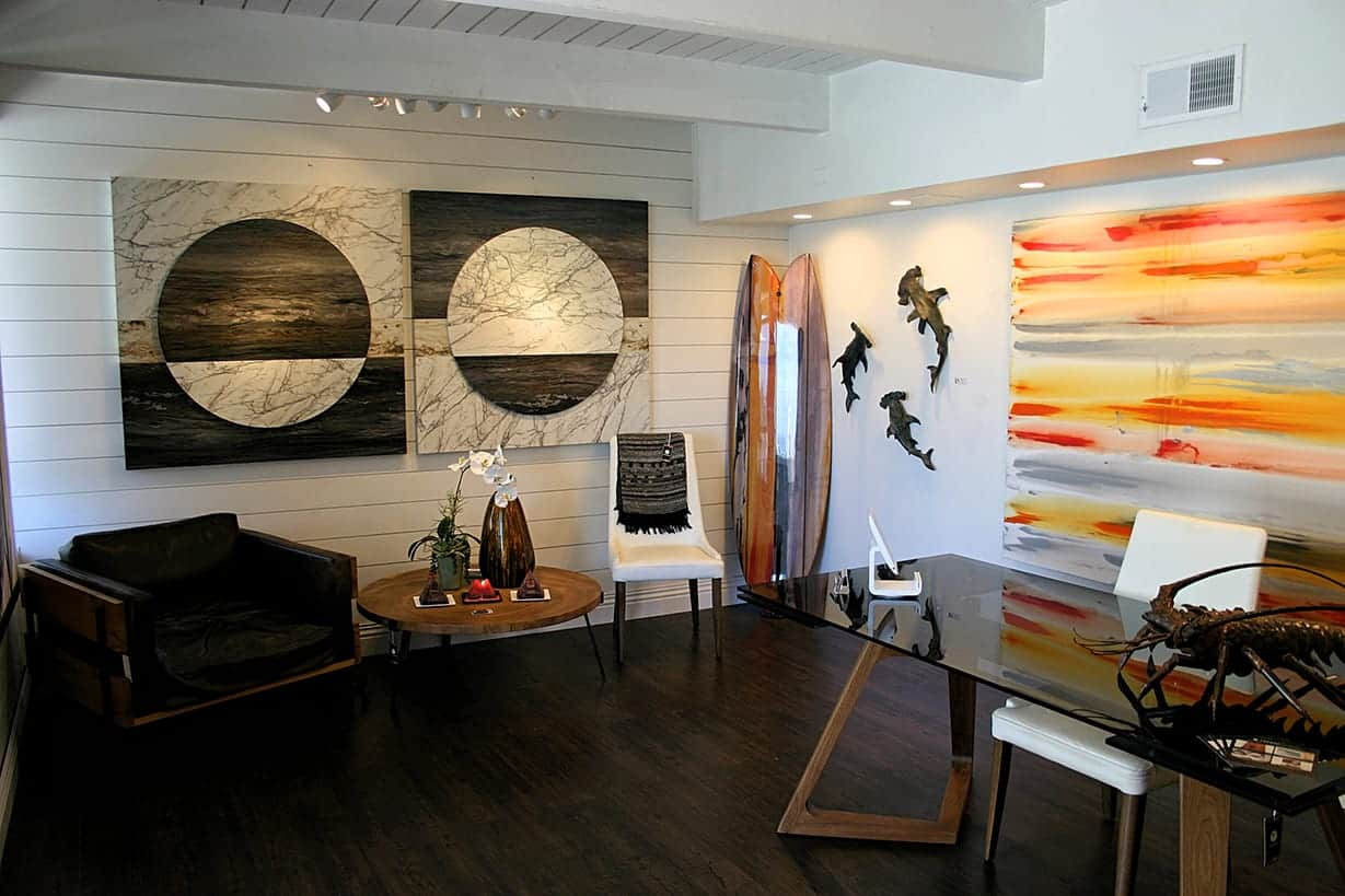 laguna beach event space - orange county venue - Modern Contemporary and Coastal Artwork