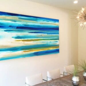 Artwork by Erik Skoldberg | Contemporary Paintings | Vibrant & Energetic Artwork